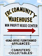 ERC Community Warehouse Sign